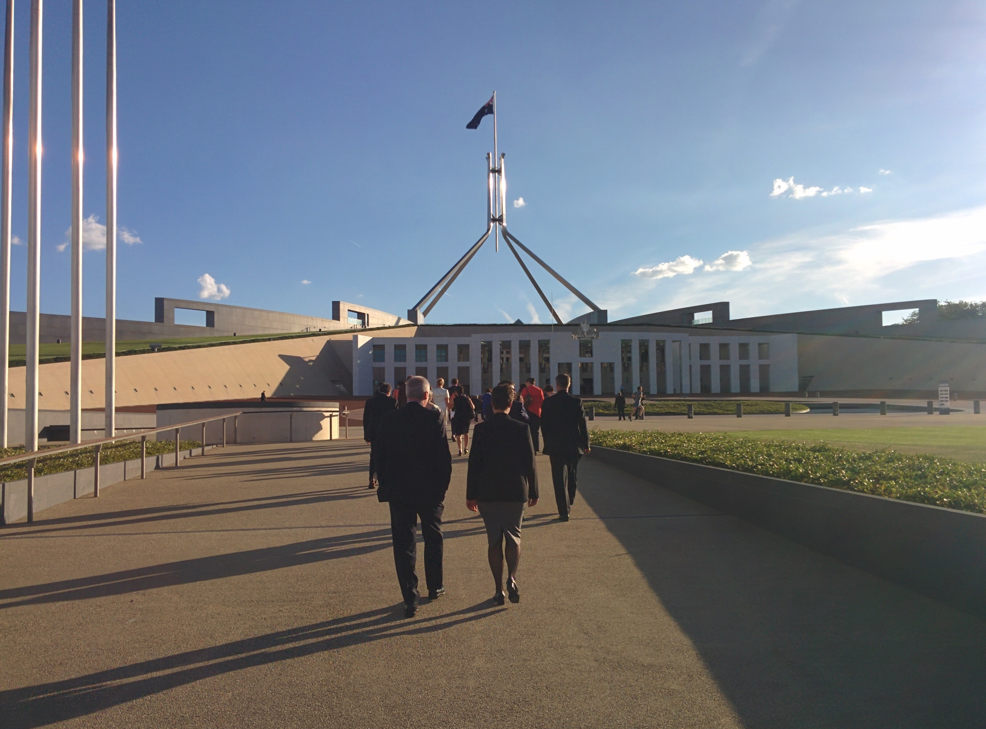 Scientists make their way to Parliament